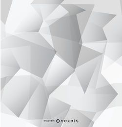 Abstract grey polygonal wallpaper