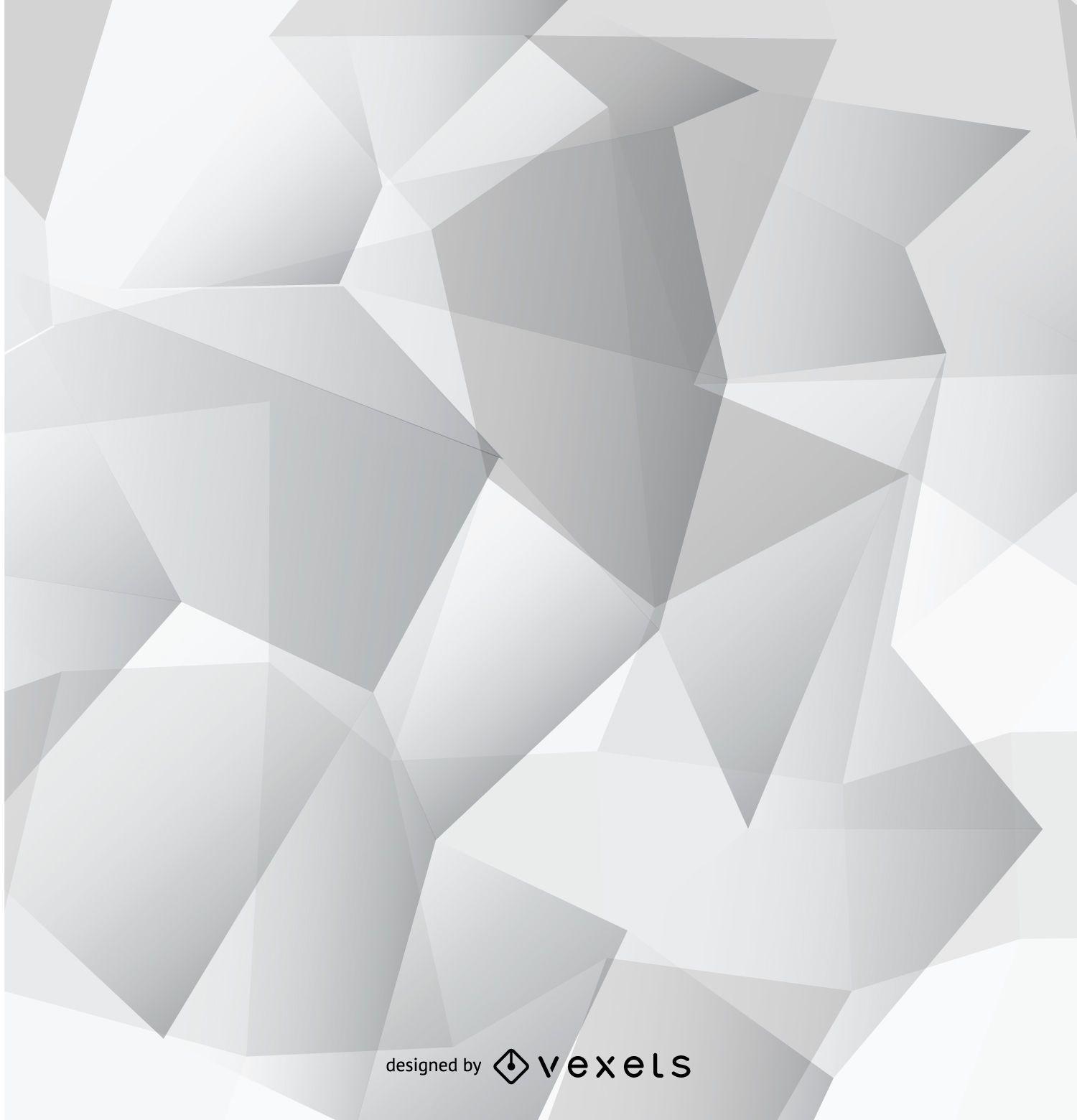 Fondo de pantalla poligonal gris abstracto descargar vector for Fondo de pantalla gris