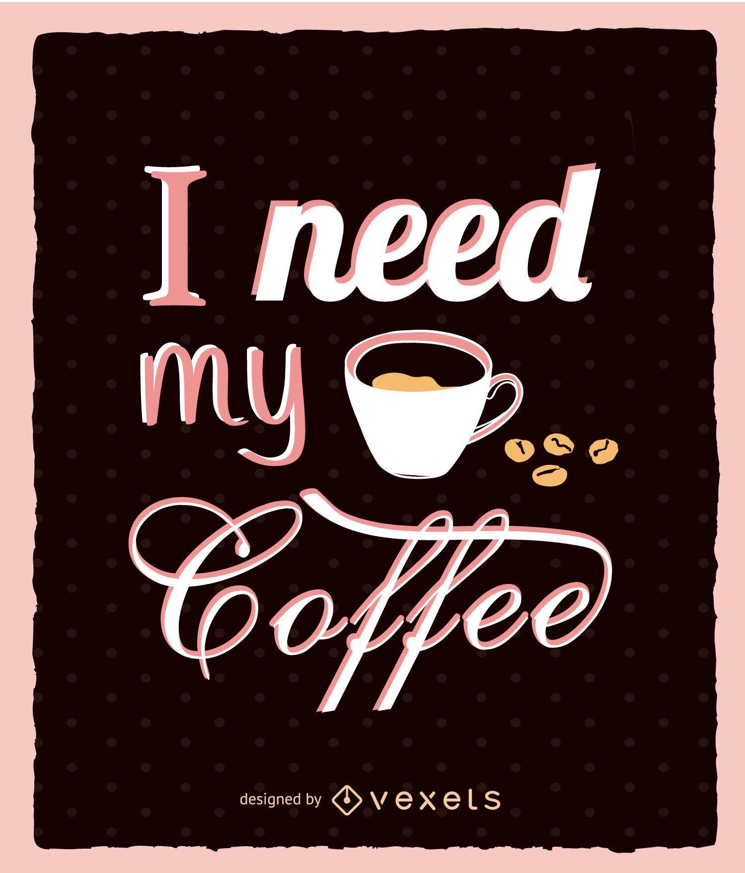 Moldura de cozinha de café