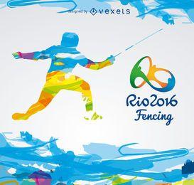 Olympiade Rio 2016-Fechten