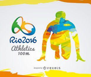 Rio 2016 - Atletismo 100m