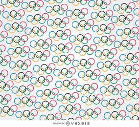 Olympic rings pattern