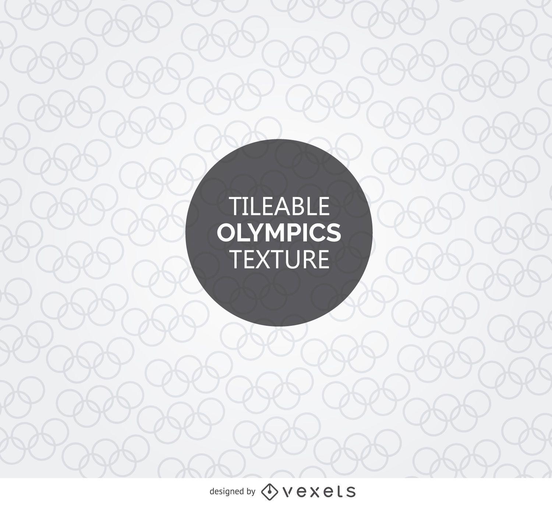 Textura do símbolo olímpico de Tileable