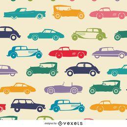 Papel pintado endo de coche vintage