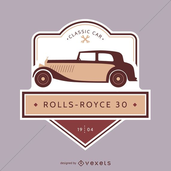 Emblema de coche clásico