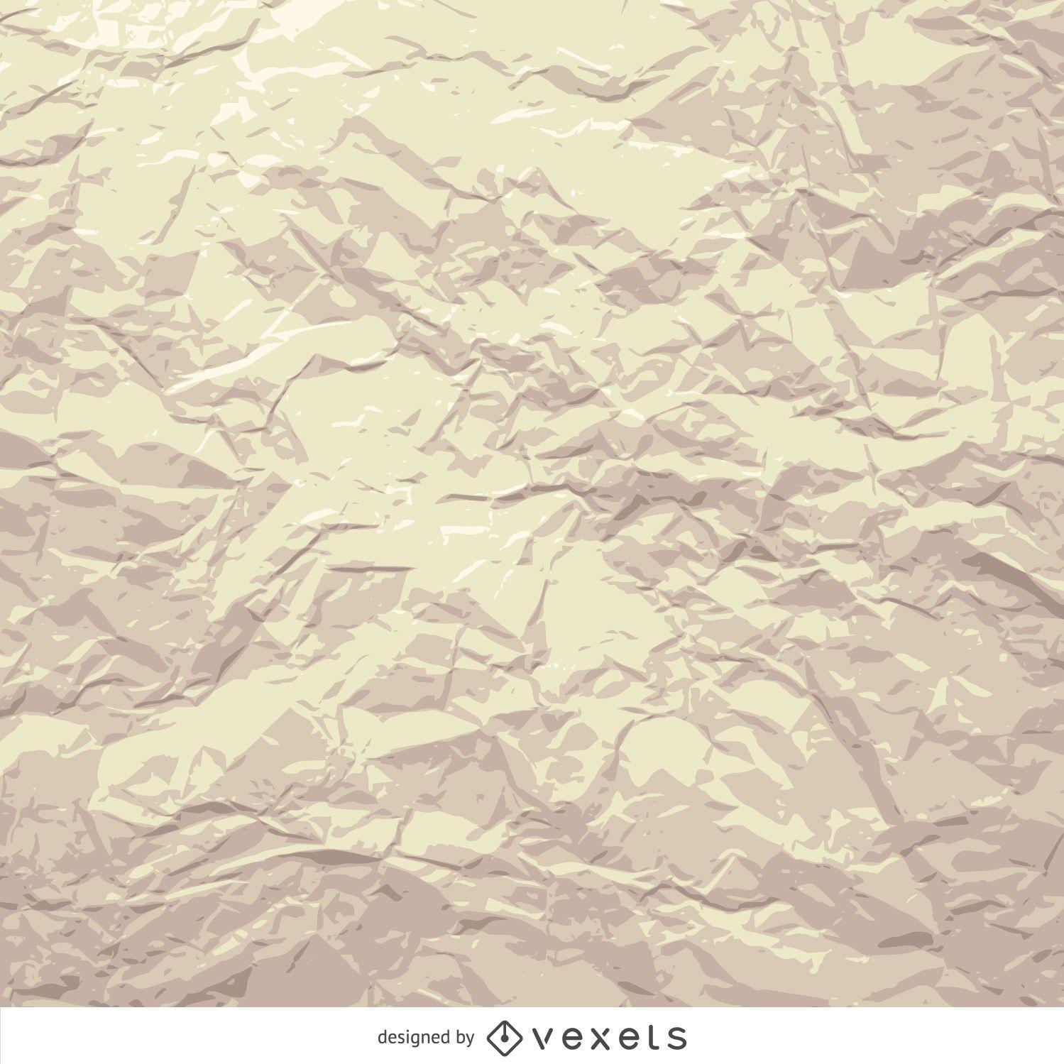 Grunge papel arrugado