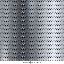 Dotted metallic texture