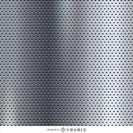 Textura metalizada punteada.