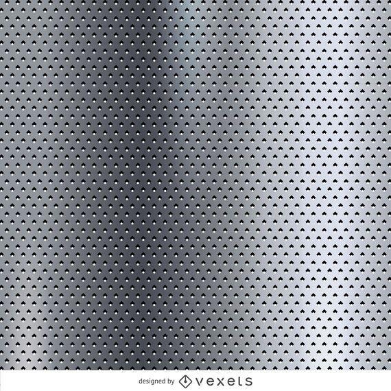 Dotted metallic texture