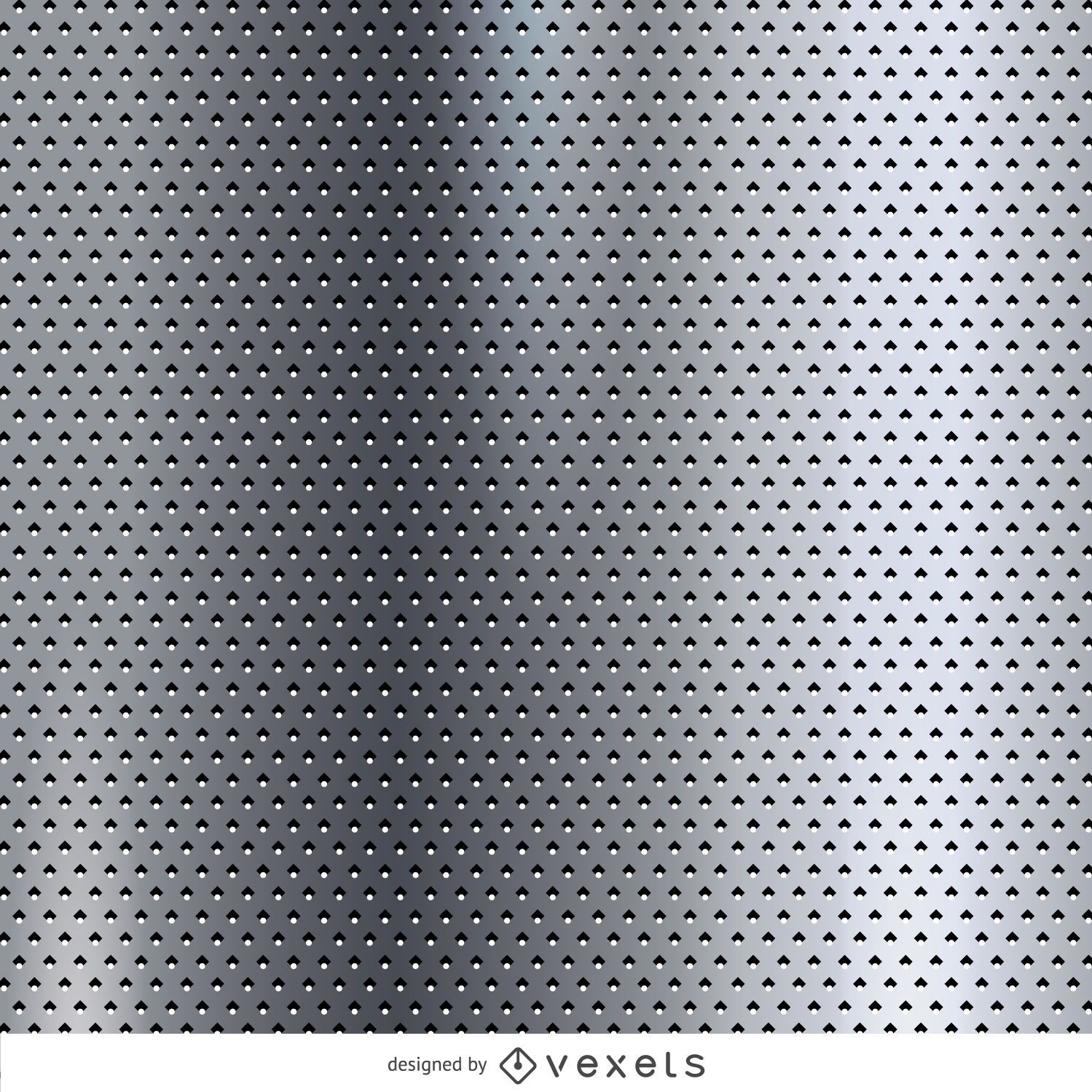 Textura metálica punteada