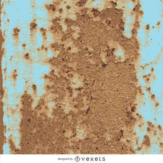 Textura oxidada del metal.