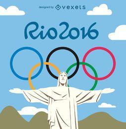 Jogos olímpicos Rio 2016 - Cristo Redentor