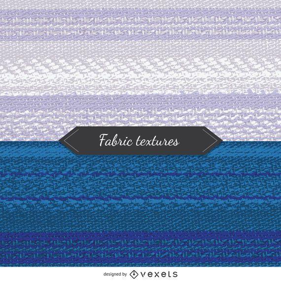 2 Gewebestrukturen in Blau- und Weißtönen