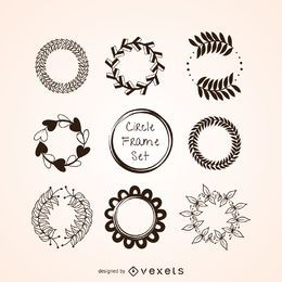 Conjunto circular ornamento