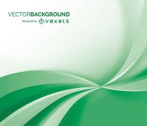 Fondo abstracto blanco y verde