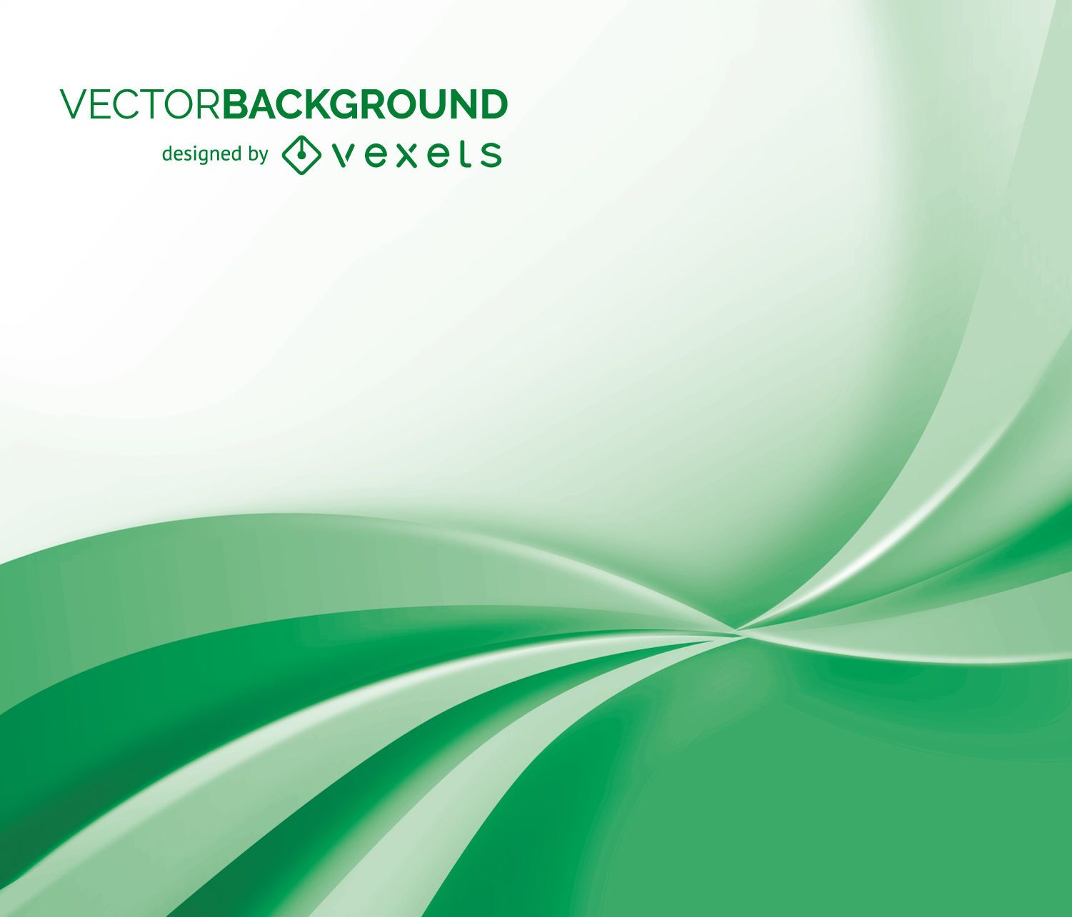 White And Green Abstract Background