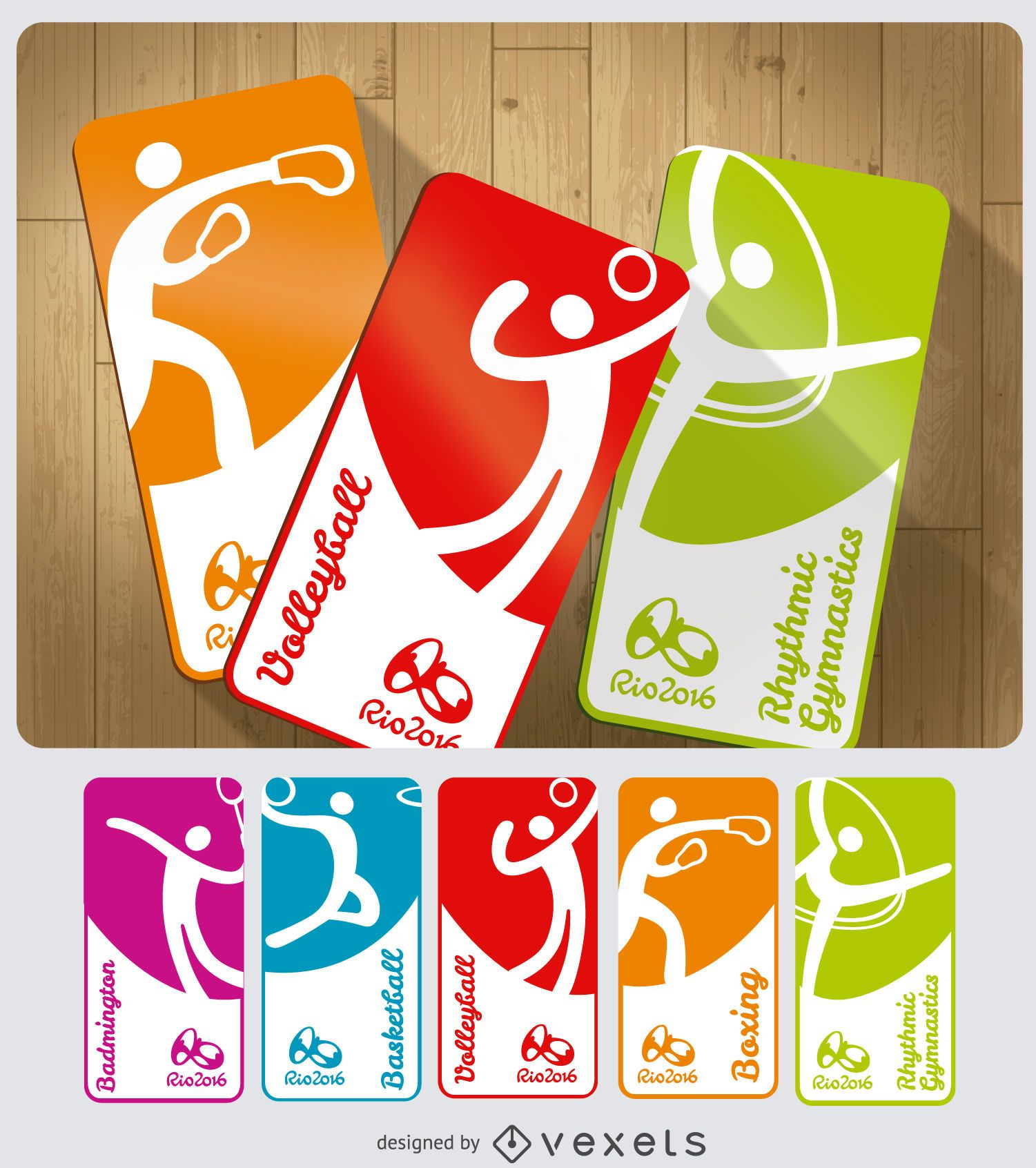 Olympic Games 2016 sport cards