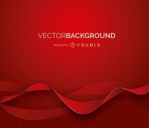 Abstrakter Hintergrund mit roten Formen