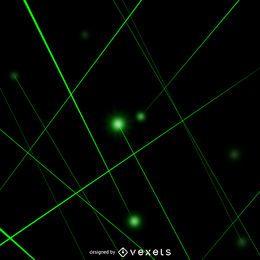 Raios laser verde
