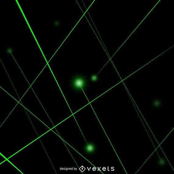 Rayos laser verde