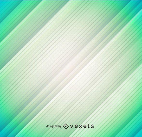 Fondo lineal verde pastel