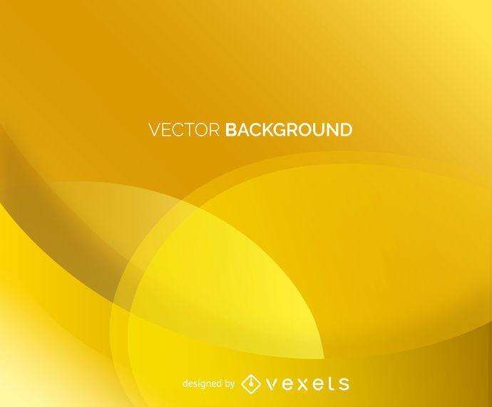 Yellow abstract backdrop