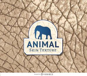 Textura de pele de elefante