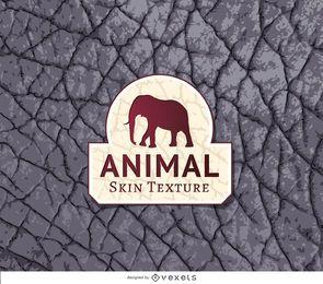 Textura de pele de elefante cinza