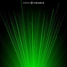 Green laser beam light background