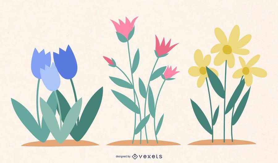 +60 Blumenressourcen als Werbegeschenk