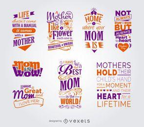Sammlung von Muttertagszitaten