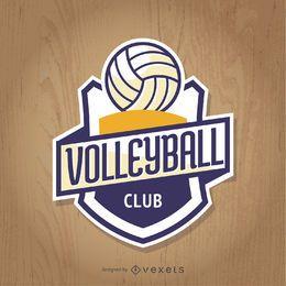 Volleyball club insignia