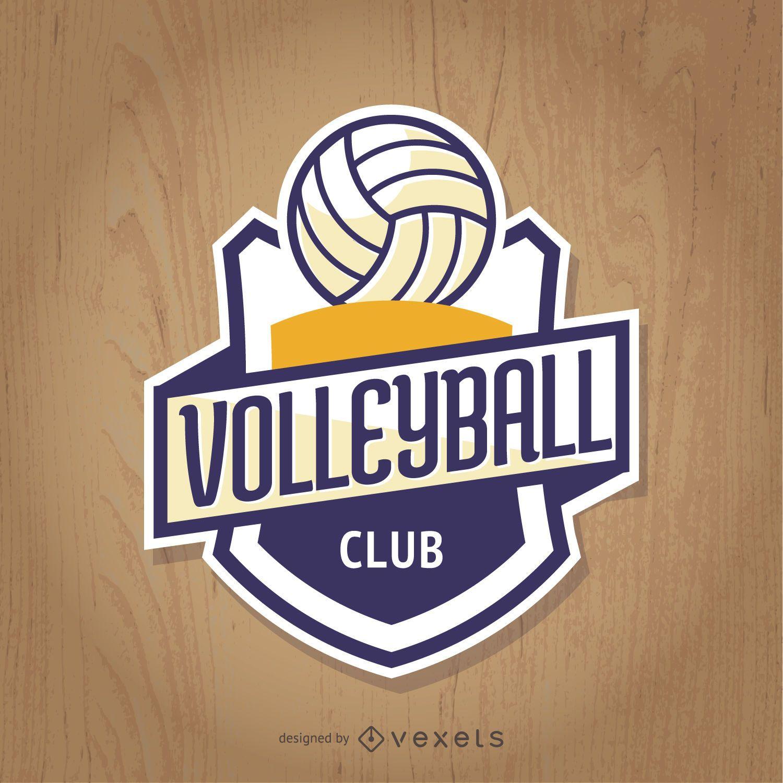 Insignia del club de voleibol