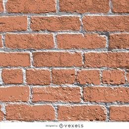 Realistische Backsteinmauerbeschaffenheit