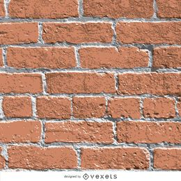 Textura realista de parede de tijolos