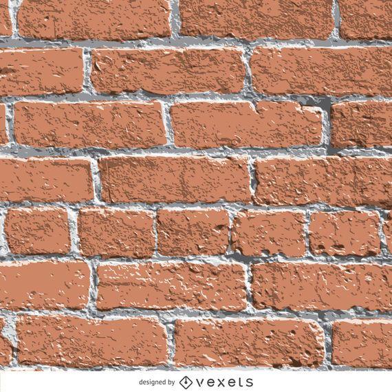 Realistic brick wall texture