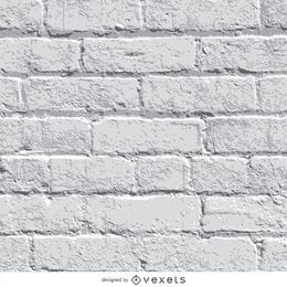 Fondo de pared de ladrillo blanco