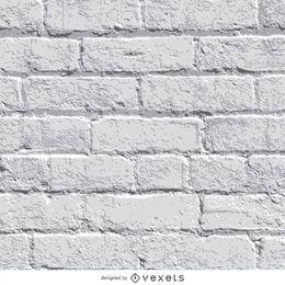 Fundo da parede de tijolo branco