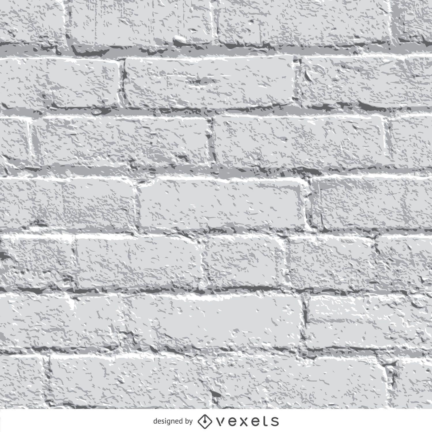 Fondo de la pared de ladrillo blanco descargar vector - Pared ladrillo blanco ...