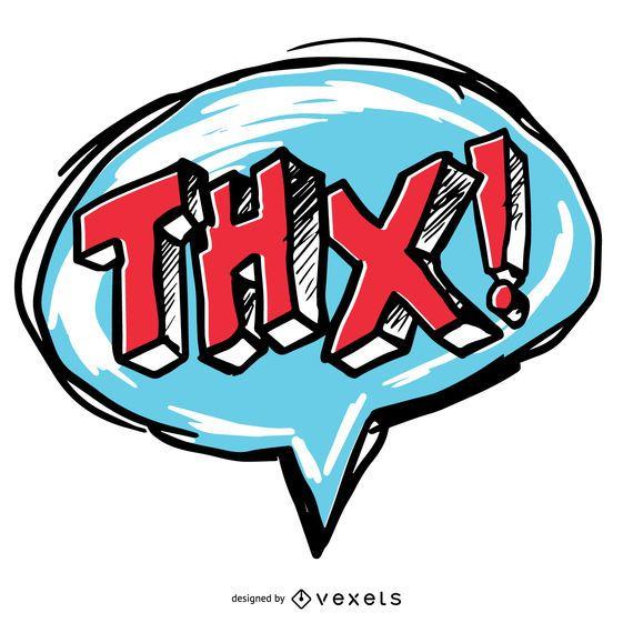 Obrigado bolha do discurso THX