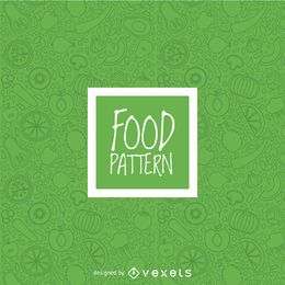 Nahtloses Muster des grünen Gemüses