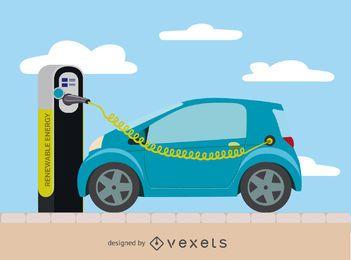 Carga de coches eléctricos