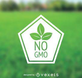 Nenhum crachá GMO