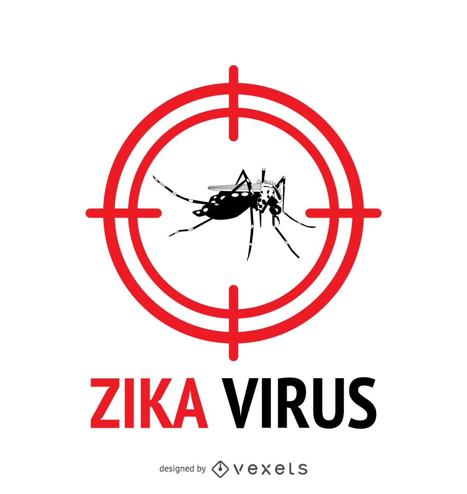 Zika virus alert with