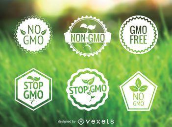 Nenhum conjunto de rótulos GMO