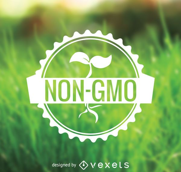 Emblema de alimentos não OGM