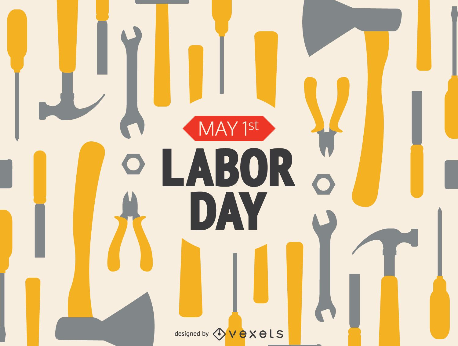 Labor day working tools with message vector download labor day working tools with message download large image 1601x1210px kristyandbryce Image collections