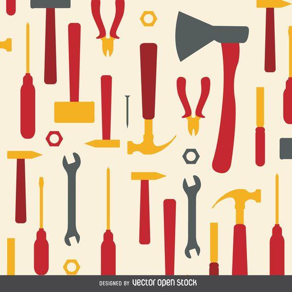 Padrão de ferramentas de trabalho