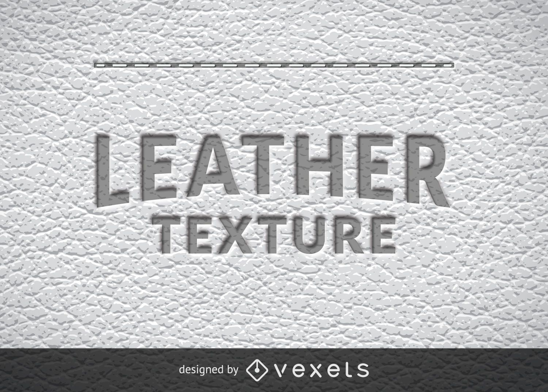 Textura de cuero realista