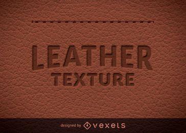 Textura de cuero natural
